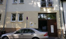 Praxiseingang Wallstraße 12